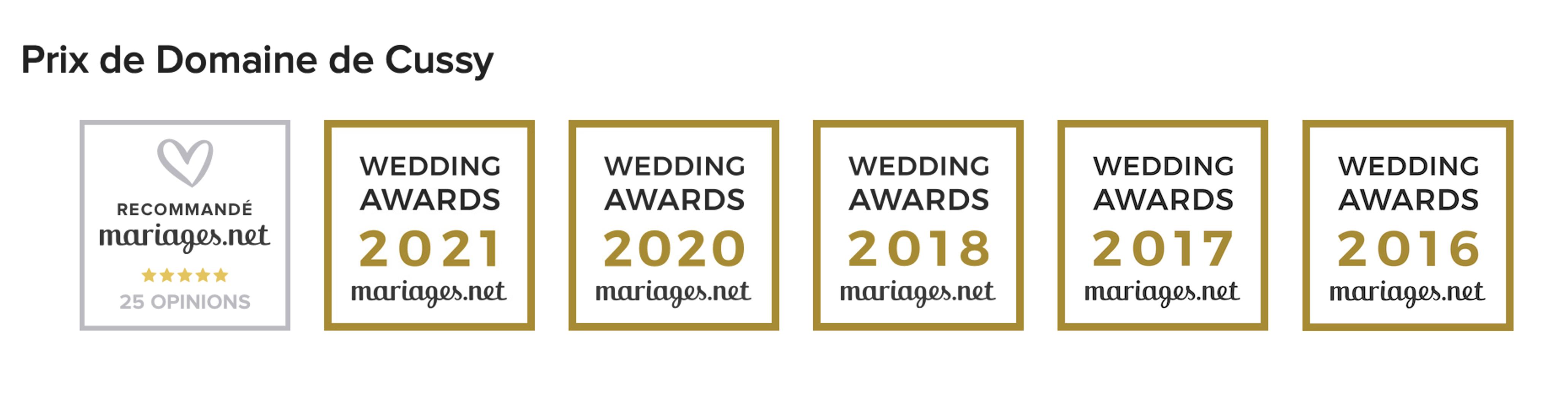 Wedding_Award_Prix_Domaine_de_CUSSY_Wedding_Venue_France_Mariages_Seminaire